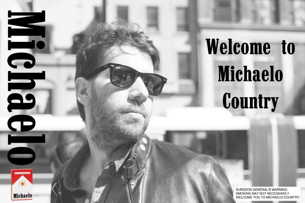 6.Welcome-To-Michaelo-Country-Cigarette-Poster-Mike-Mellia
