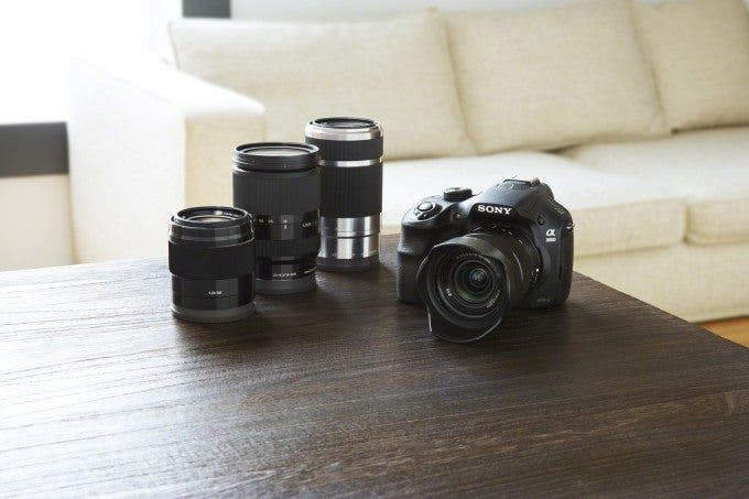 Sony a3000 and Lenses