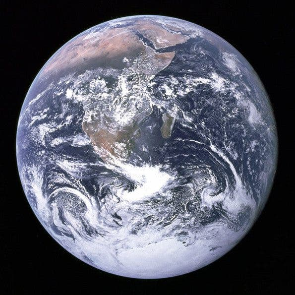 The Blue Marble. Courtesy of NASA.