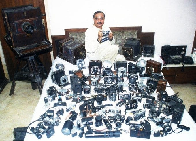 Dilish Parekh Camera Collection via India Book of Records