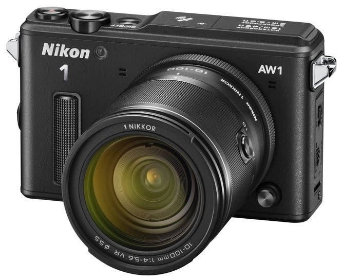 Nikon 1 AW1 11-27.5mm kit black
