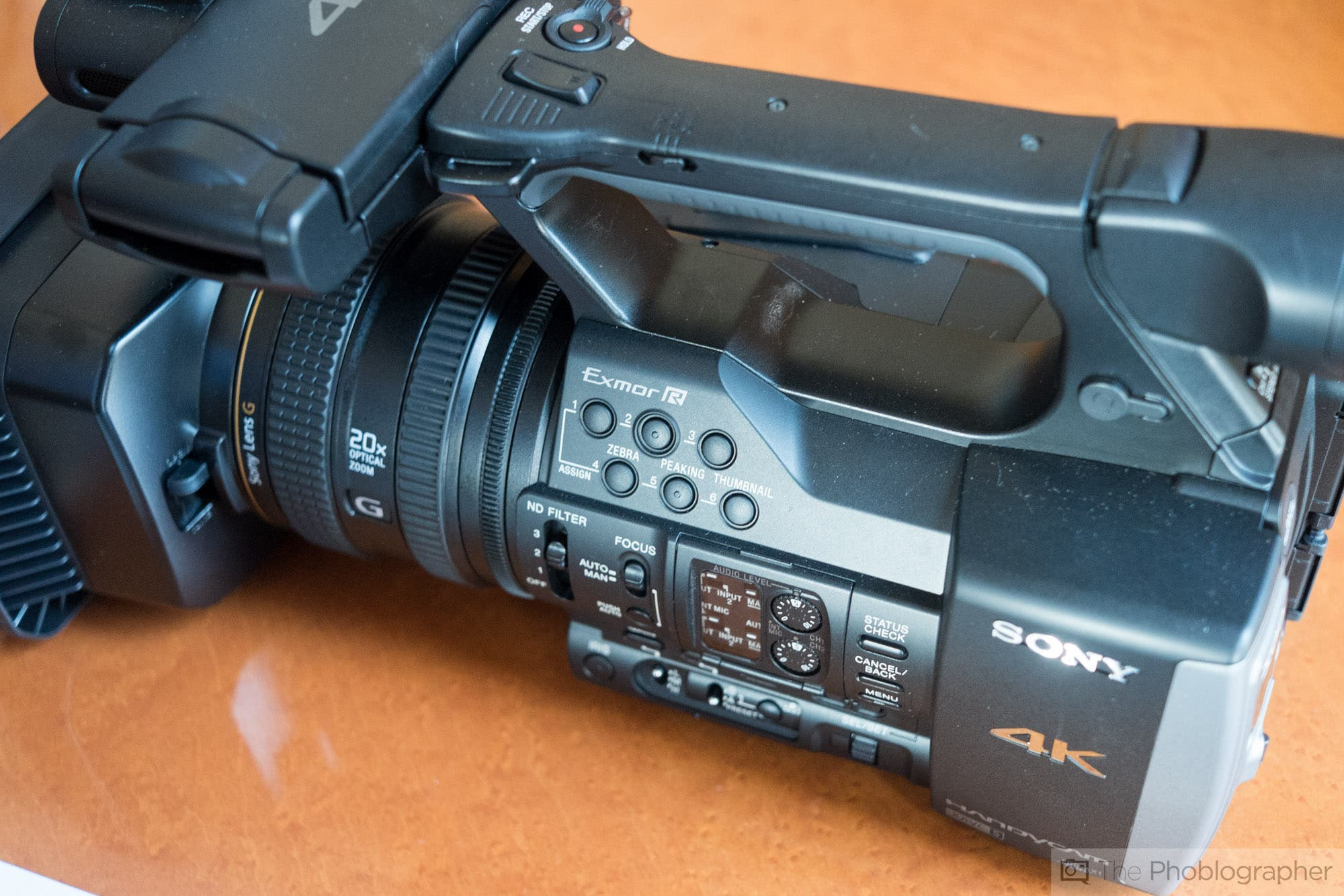 First Impressions: Sony FDR AX1-The First 4K Camcorder With