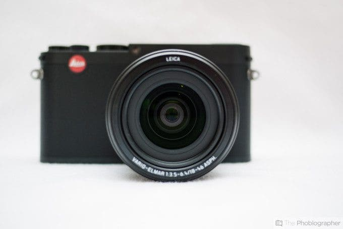 Felix Esser The Phoblographer Leica X Vario Review Front View