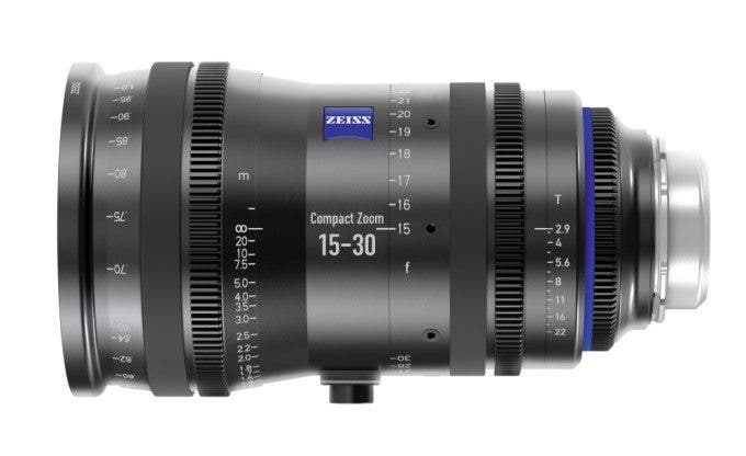 Zeiss 15-30mm T1.9 CZ.2 Wide-Angle Cine Zoom Lens