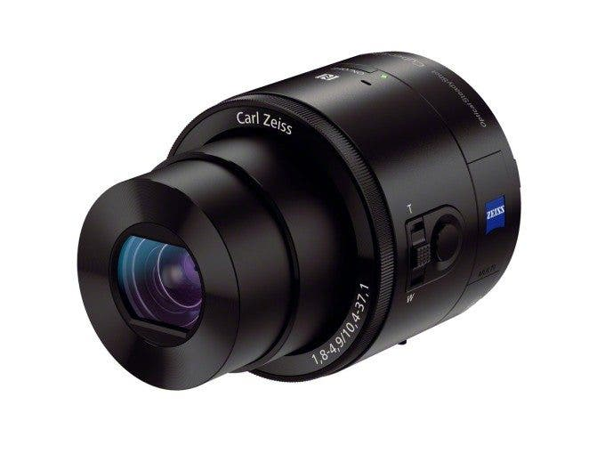 Sony QX100 angled view