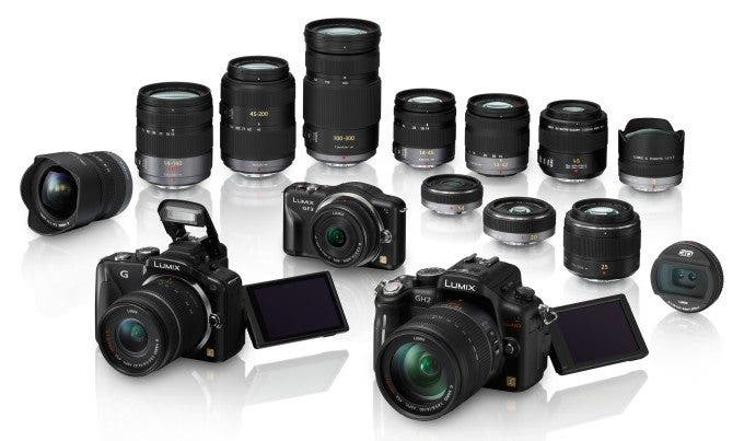 Panasonic Micro Four Thirds Products