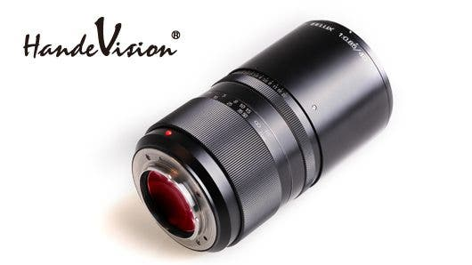 Handevision Ibelux 40mm f0.85 super fast mirrorless lens