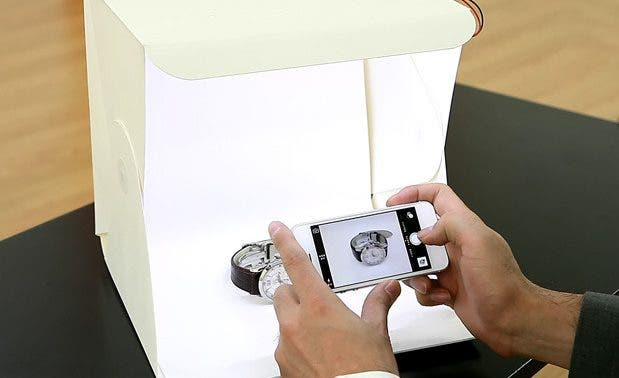 Cheat Sheet: How to Use a Light Box for Product Photography