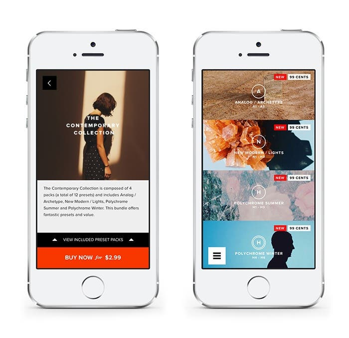 VSCO Cam Releases New Presets and Bundle - The Phoblographer