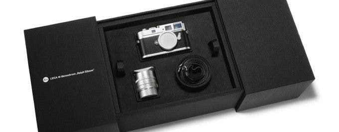 Leica M Monochrom Ralph Gibson Special Edition