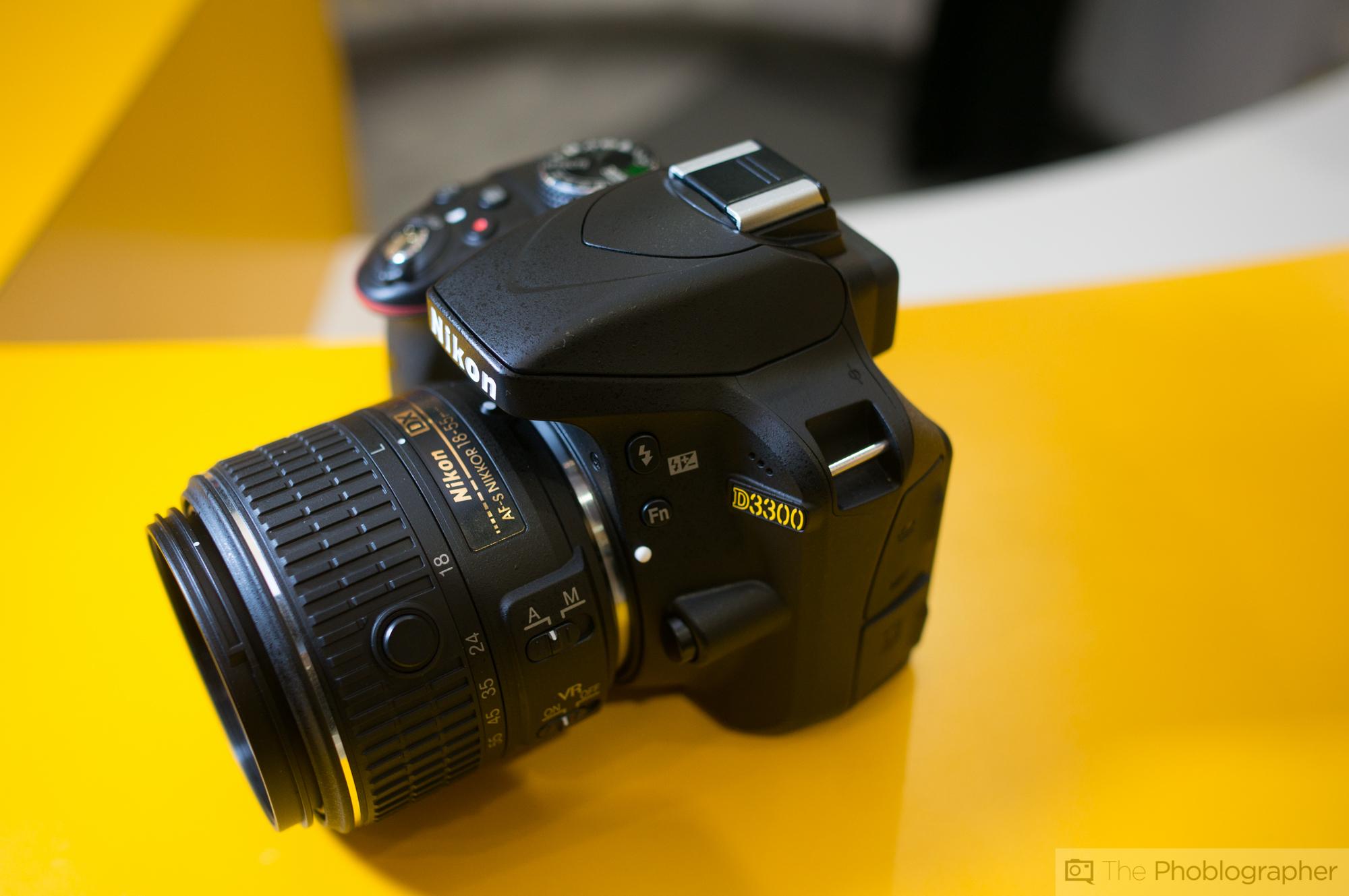 First Impressions: Nikon D3300