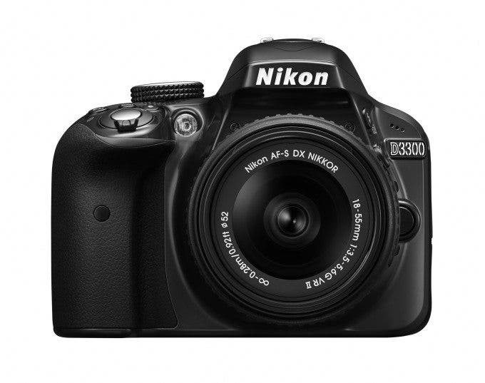 D3300_RD_18_55_VR-_front_BW