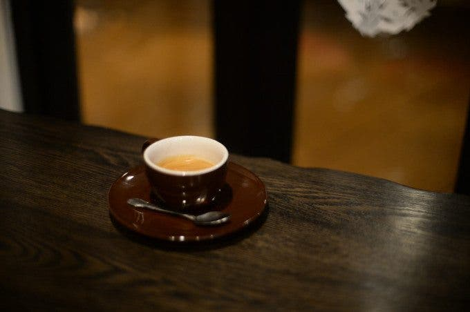 One of my first images with the Df, Coffee with the Nikon 50mm f1.2