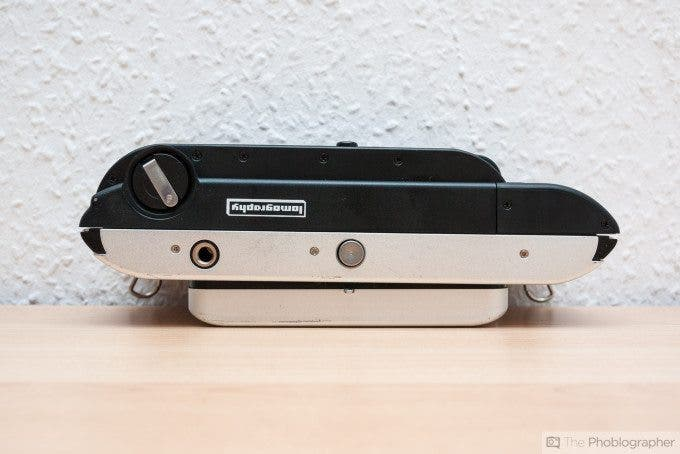Felix Esser The Phoblographer Lomography Belair X 6-12 35mm Back Review Product Image Bottom View
