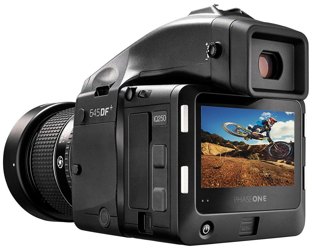 """Phase One IQ250 is the """"World's First"""" 50MP Medium Format CMOS ..."""