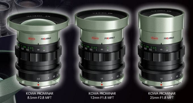 Kowa Micro Four Thirds lenses 2014