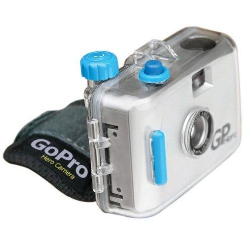 GoPro Was Originally a 35mm Film Waterproof Camera Manufacturer