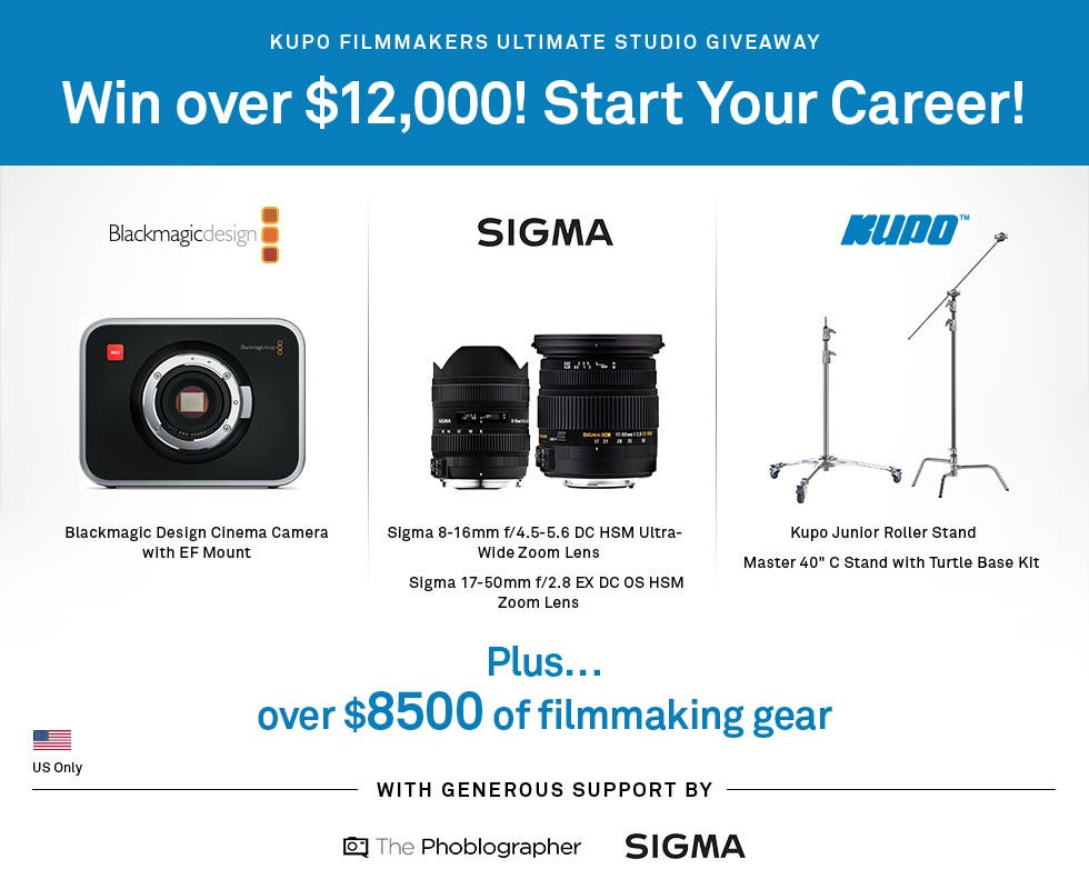 You Can Still Win $12,000 Worth of Free Gear