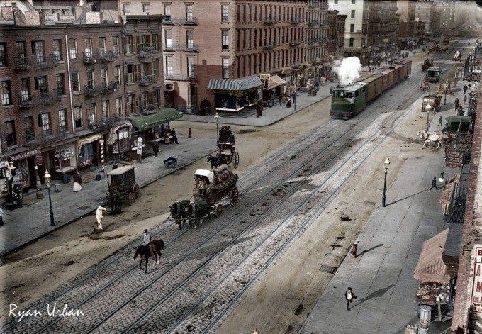 NYC 11th Ave 1909 - Imgur