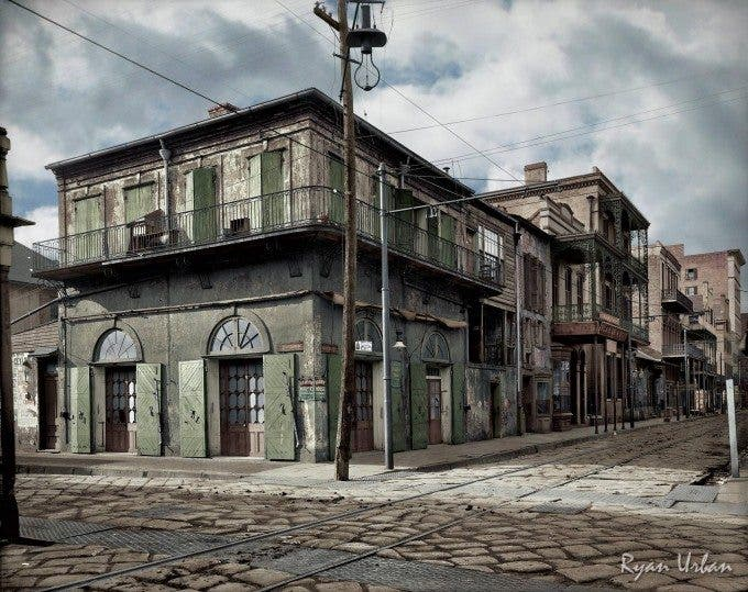 New Orleans 'Old-Absinthe House' on Bourbon Street Circa 1903 - Imgur