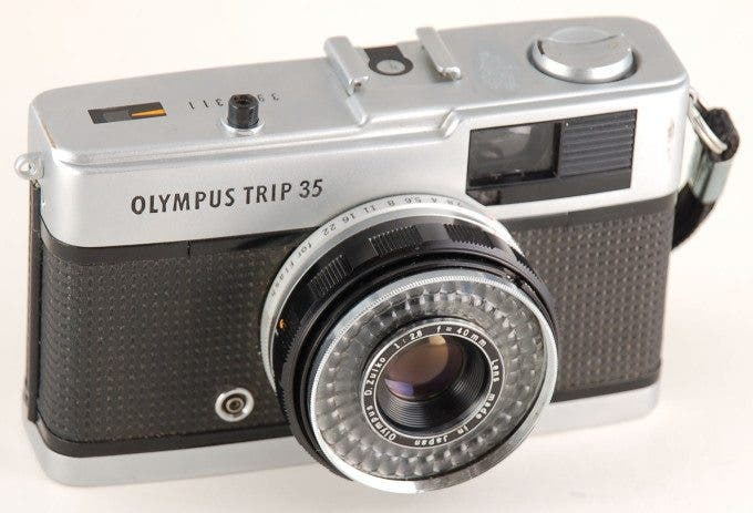 Olympus Trip 35 (Credit: Marc Lacoste on Wikipedia)