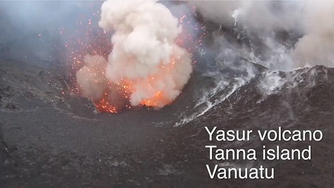 Dji Phantom Drone Flies Into an Erupting Volcano, Miraculously Comes Back Unscathed