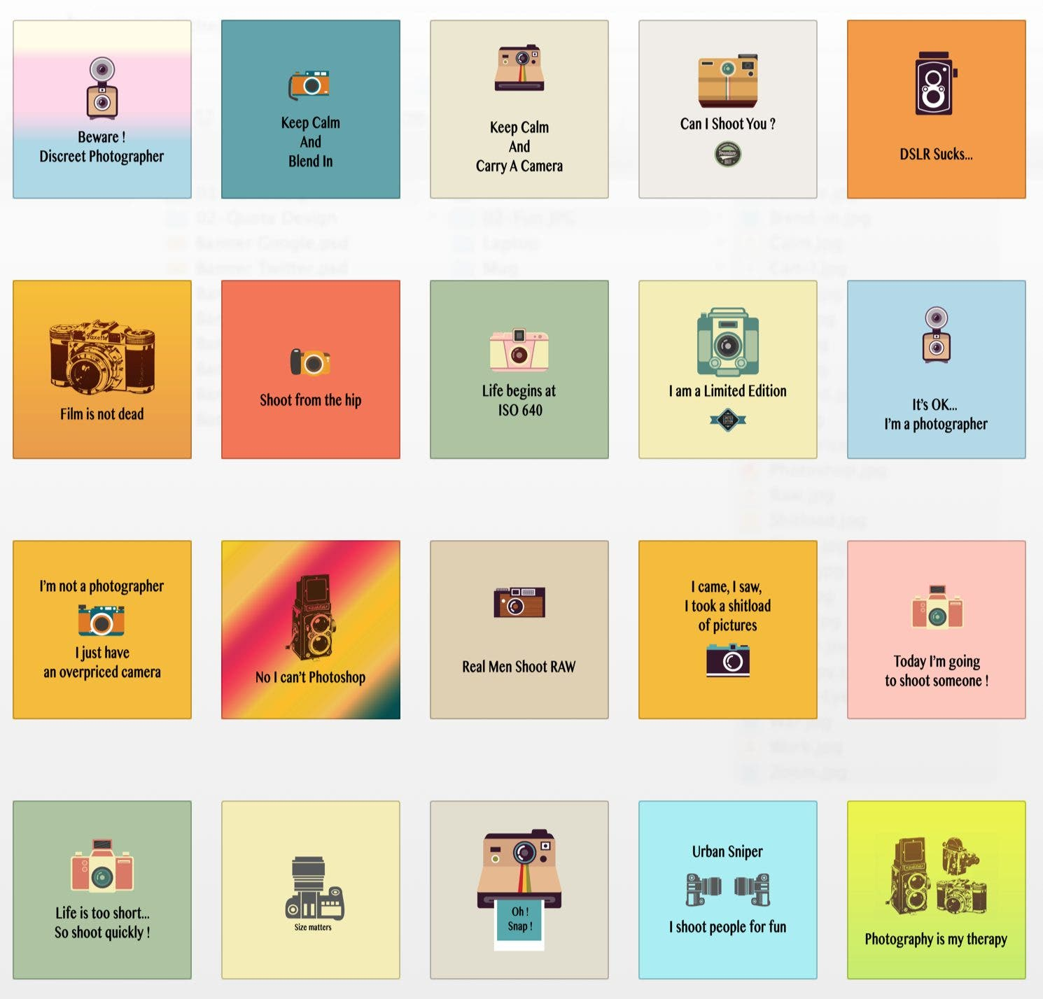 These Badges Will Make You Proud to Be a Photographer