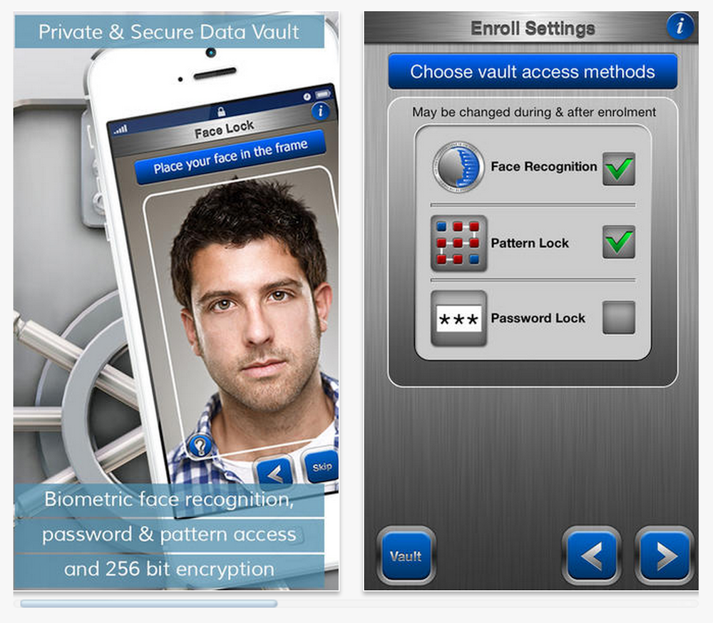 FaceCrypt for iOS Lets You Protect Your Data With Your Selfie