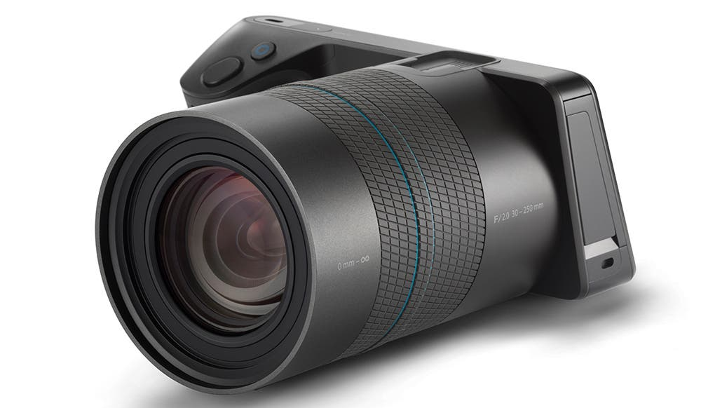 The Lytro Illum Sports a 1/1.2-inch 40-megaray CMOS sensor