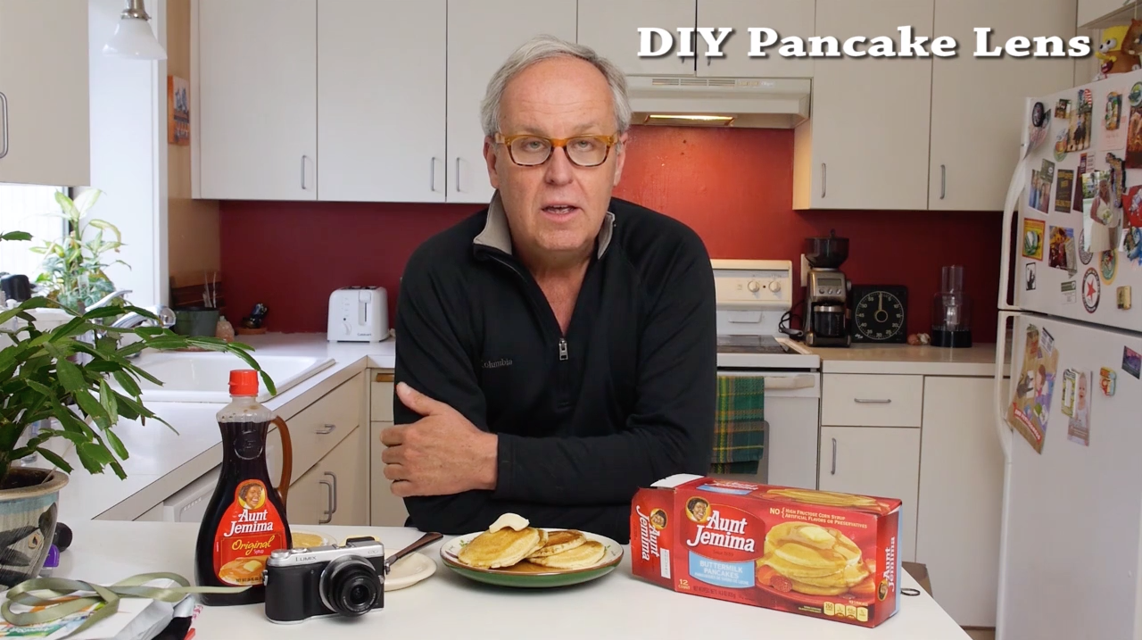 Make a Pancake Lens (Literally) with This Fun New DIY Tutorial