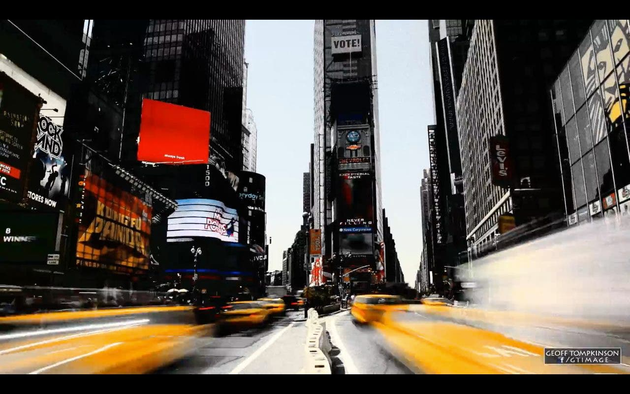 Awesome Film Noir Inspired Hyperlapse Video of NYC