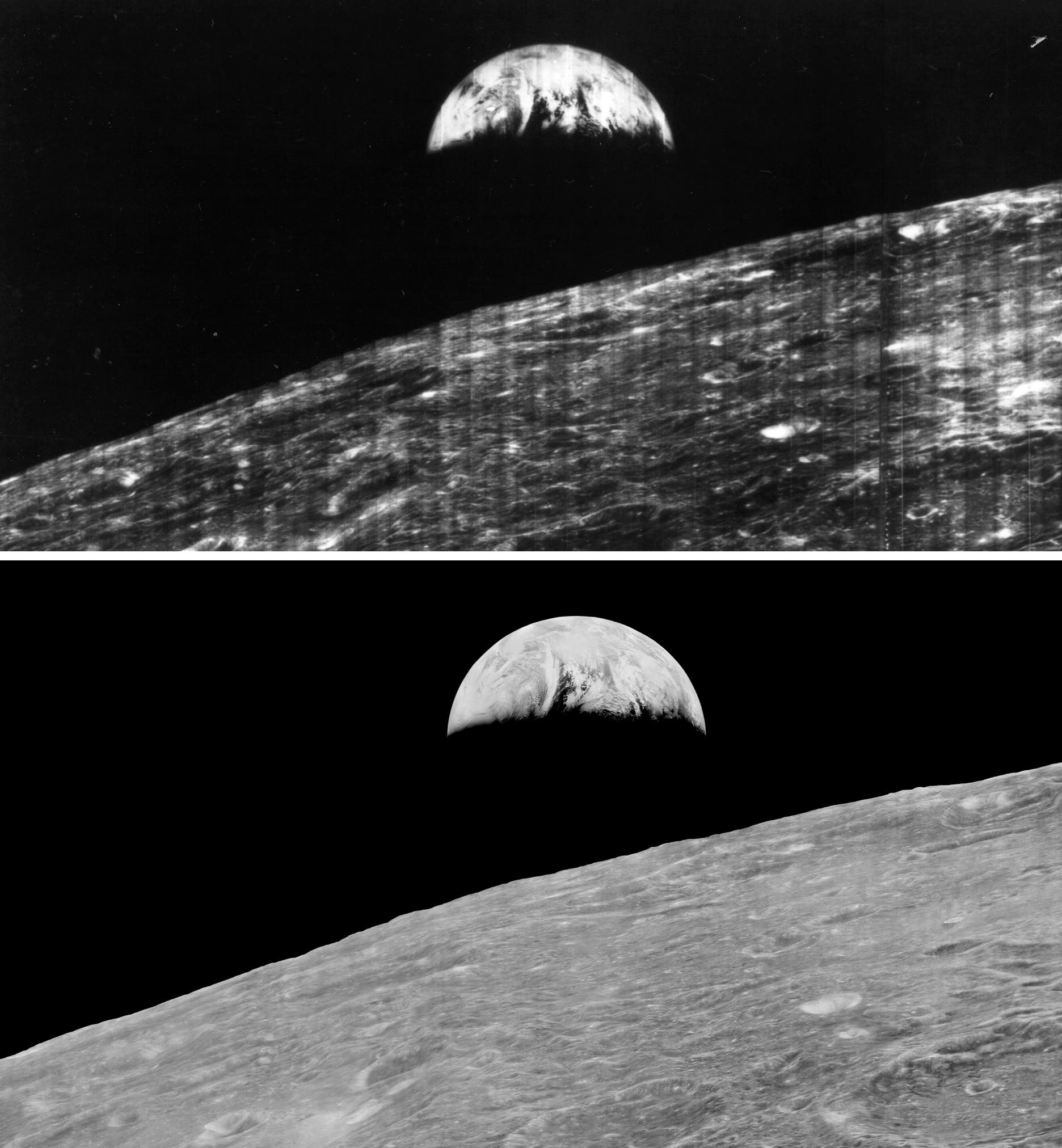 Techno-Archaeologists Recover and Digitalize Long-Lost Lunar Orbiter Photos of the Moon
