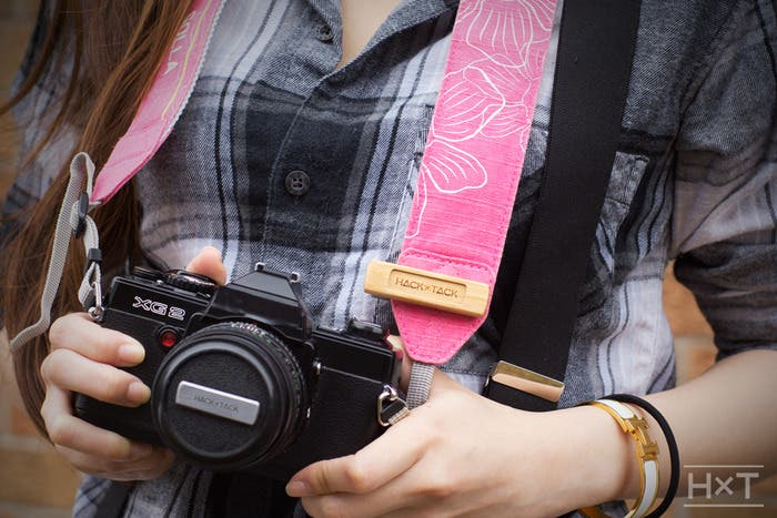 The HACKxTACK Promises That You'll Never Lose Another Lens Cap