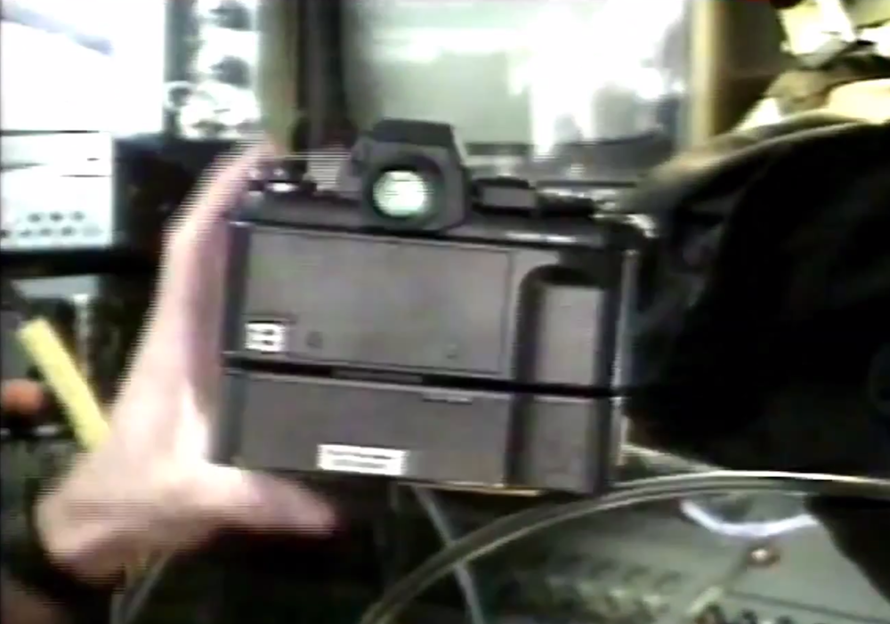 Back in 1991, NASA Sent a Hacked Nikon F3 with a Kodak Digital Back into Space