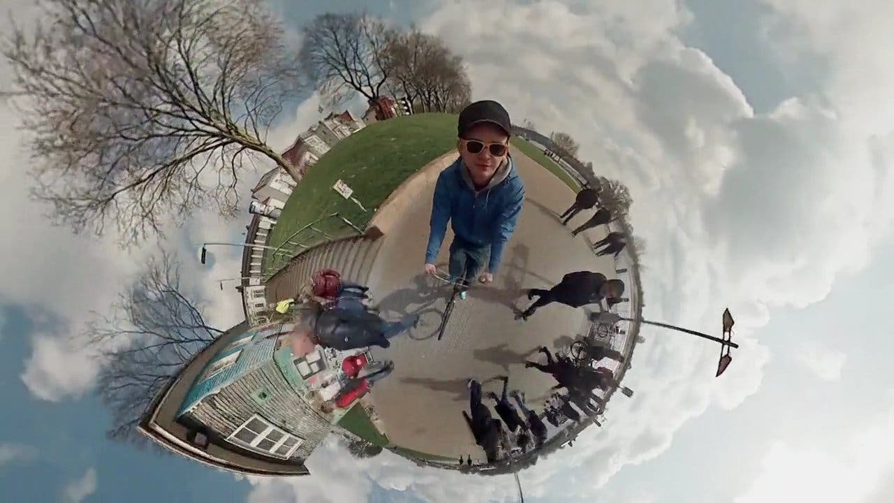 Awesome Panoramic Planet Video Created Using 6 GoPros