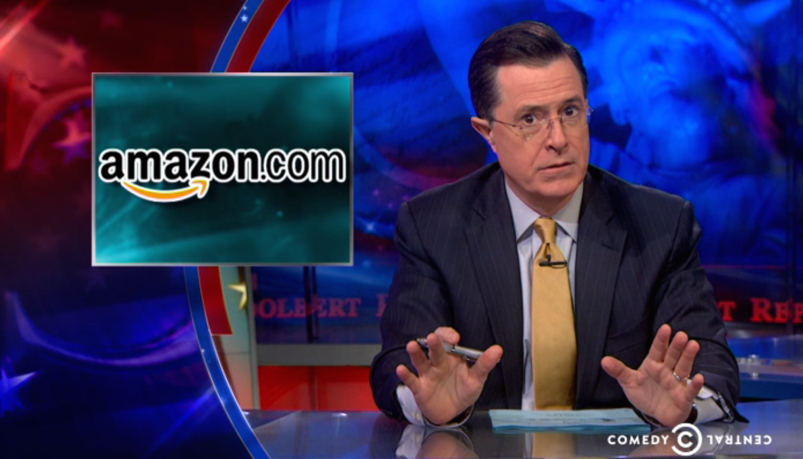 Colbert Reads Photographers' Minds And Slams Amazon Over Insane Patent