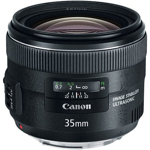 Canon 35mm f2 USM IS