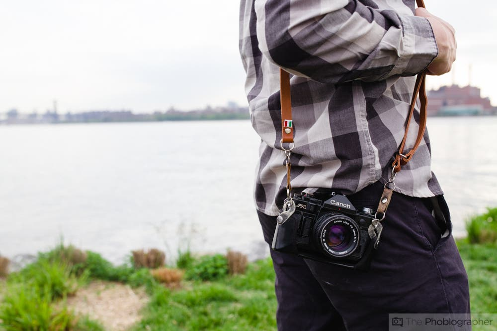 Review: Figosa Adjustable Vintage Leather Camera Strap