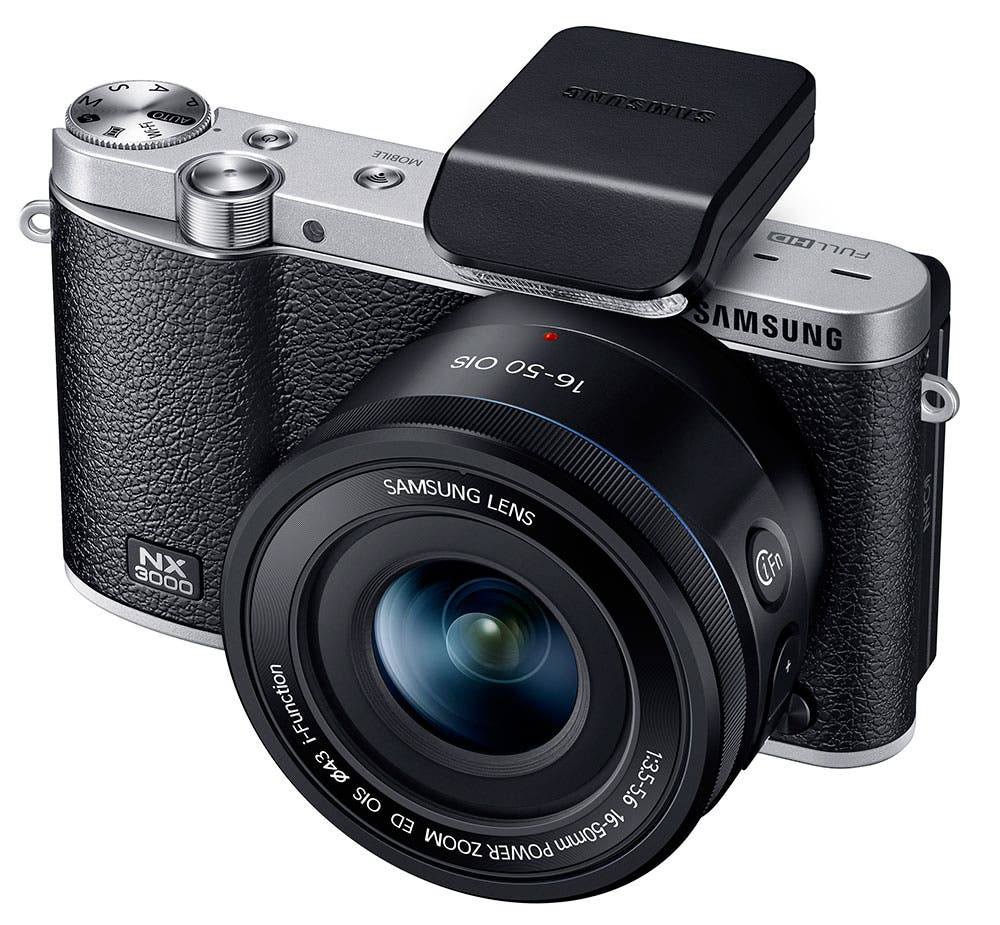 Samsung Announces the NX3000, a New Compact 20.3MP Mirrorless Camera
