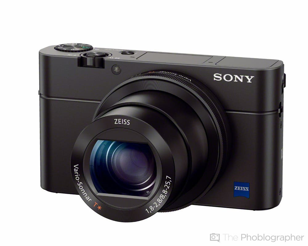 Sony Announces the RX 100 Mk III with a Faster f1.8-2.8 Lens and Sony A7s' Pricing