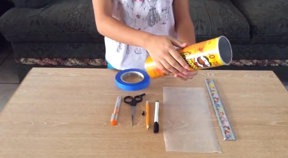 Learn How to Make a Pinhole Camera out of a Pringles Can