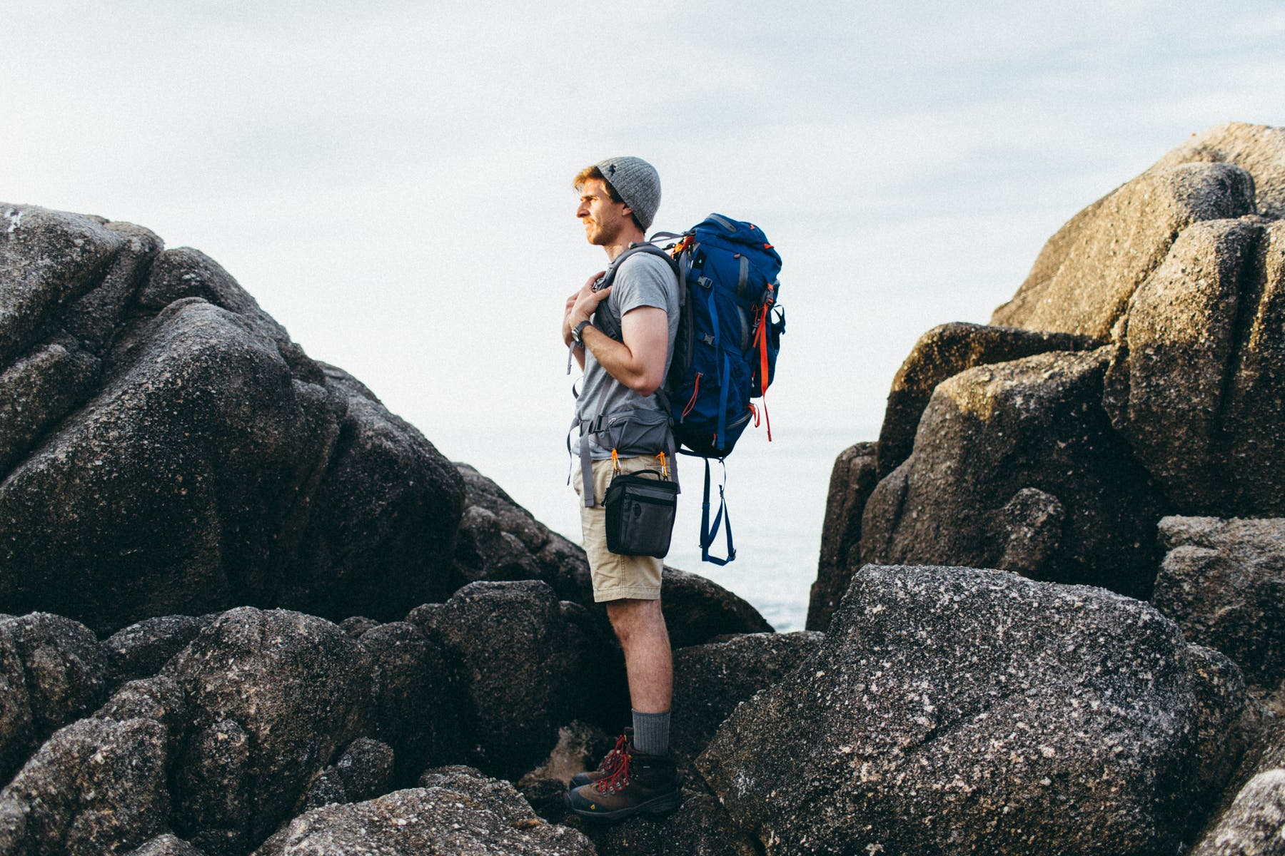How to Comfortably Go Backpacking with a DSLR