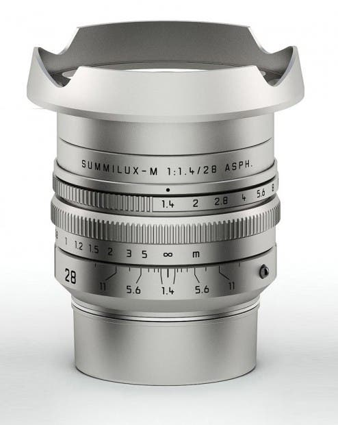 Leica Announces a New 28mm f1.4 M Mount Lens