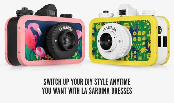 Lomography's Latest La Sardinas Will Match Your Equally Hipster Attire