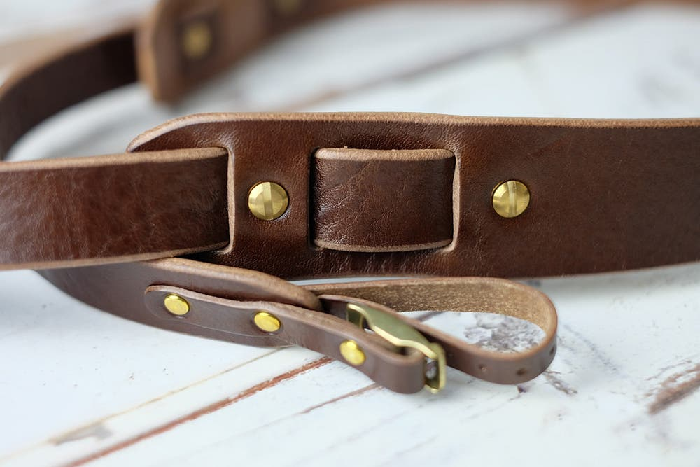 Doppietta Tokyo Brings Exotic Leather Camera Straps With