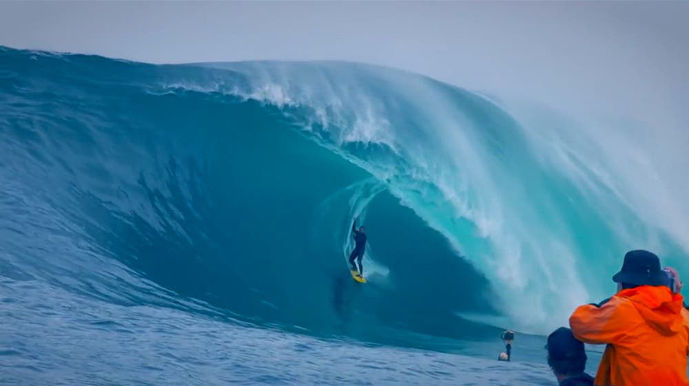 Watch Surfer Ryan Hipwood Take on the 7-Meter Wave that Nearly Killed Him