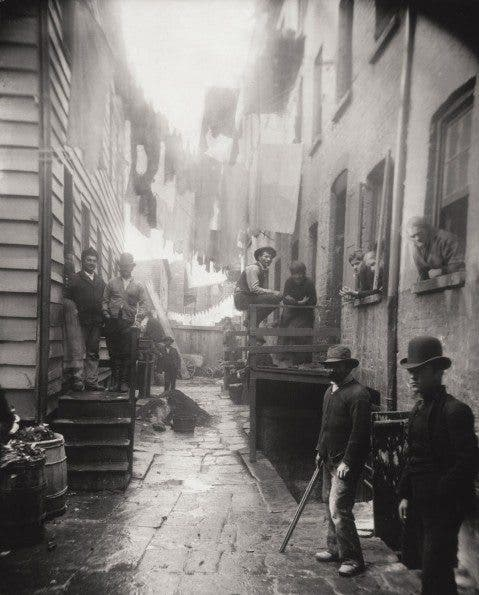 """""""Bandits' Roost, 59 1/2 Mulberry Street"""""""