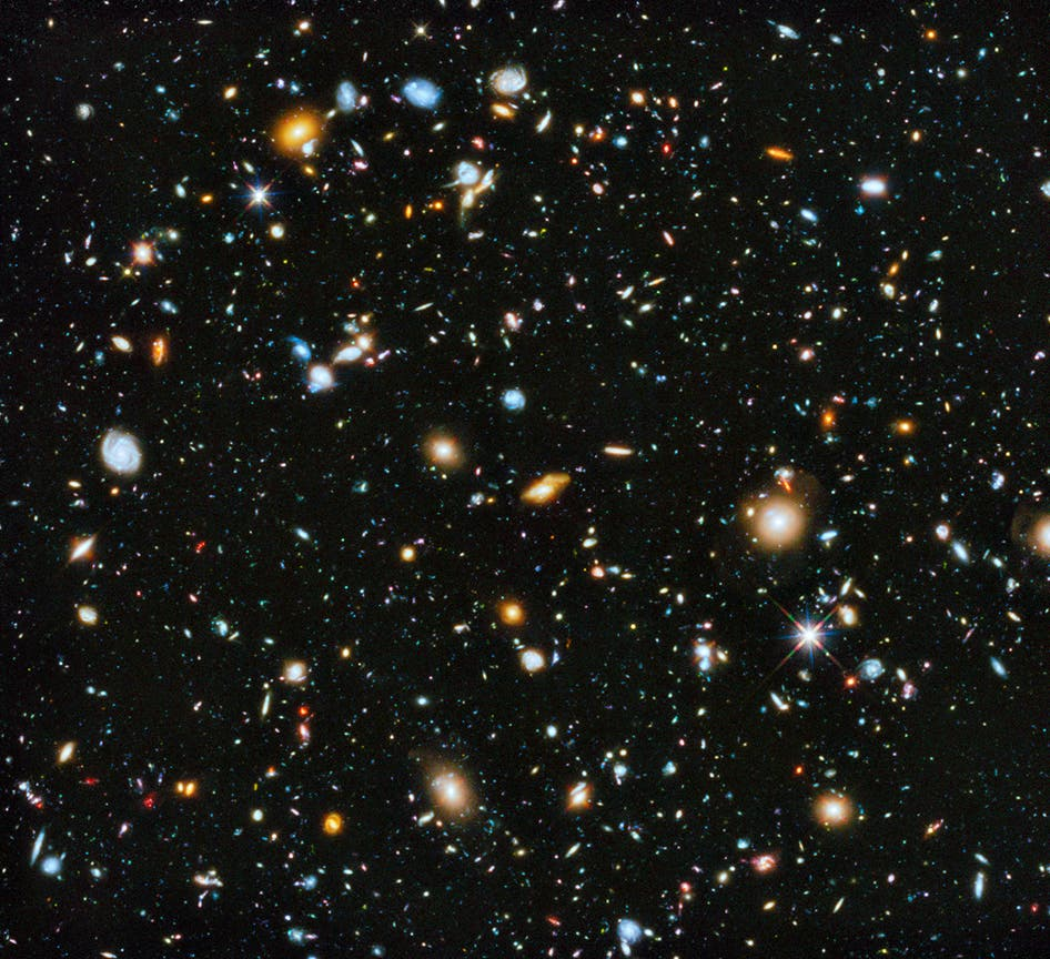 NASA Releases an Impressive Colorful Composite of the Universe that Contains 10,000 Galaxies