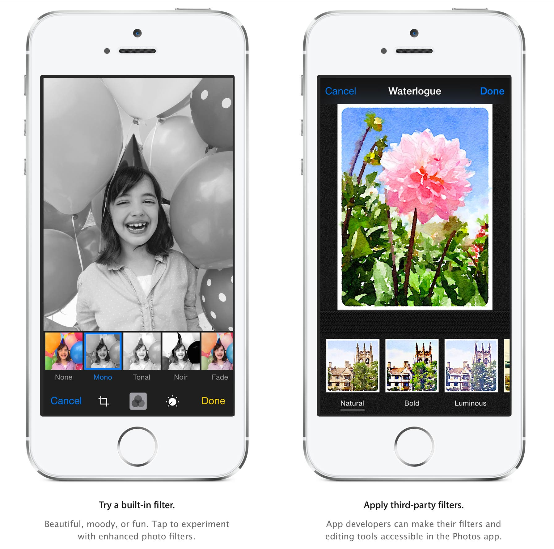 Apple Gets Serious About IPhoneography Opens Up IOS 8 To Manual