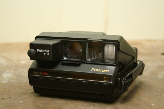 Polaroid Spectra Pro | Image by kanonn on Flickr